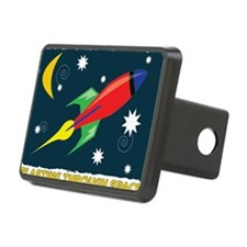Blasting Through Space Hitch Cover