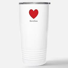 Dorothea Big Heart Travel Mug