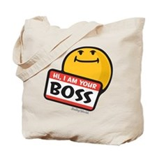 superiority smiley Tote Bag