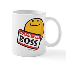 superiority smiley Mug