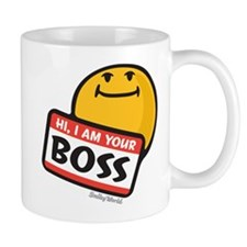 superiority smiley Mug