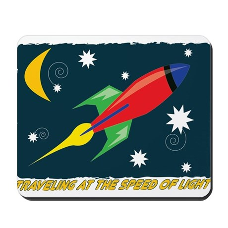 Speed Of Light Mousepad