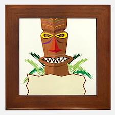 Tiki Framed Tile