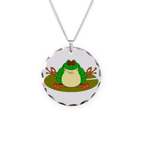 Gren Nouille, The Yogi Tree Frog Necklace