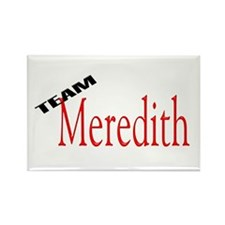 Team Meredith Rectangle Magnet