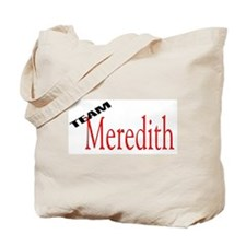 Team Meredith Tote Bag