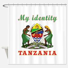 My Identity Tanzania Shower Curtain
