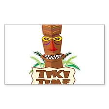 Tiki Time Decal