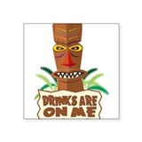 Tiki bar Stickers