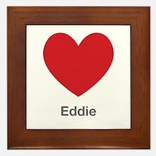 Eddie Big Heart Framed Tile