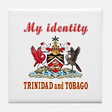 My Identity Trinidad and Tobago Tile Coaster