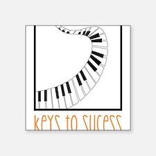 Keys To Sucess Sticker