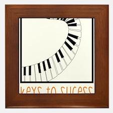 Keys To Sucess Framed Tile