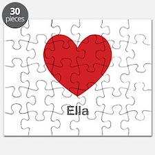 Ella Big Heart Puzzle