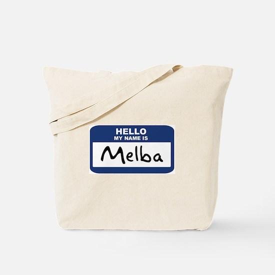 Hello: Melba Tote Bag