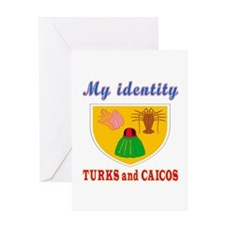 My Identity Turks and Caicos Greeting Card
