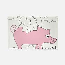 Pig Tastic! Rectangle Magnet