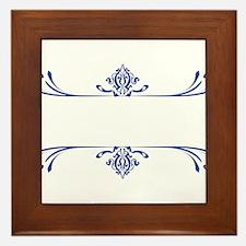 Victorian Design Framed Tile