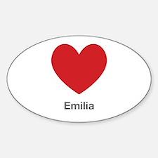 Emilia Big Heart Decal