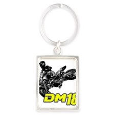 Dm18bike Portrait Keychain