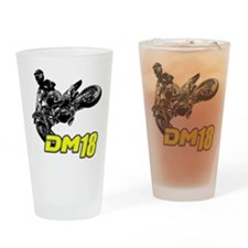 Dm18bike Drinking Glass