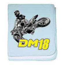 Dm18bike baby blanket