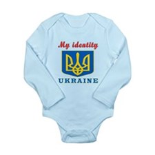 My Identity Ukraine Long Sleeve Infant Bodysuit
