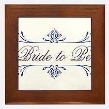 Bride To Be! Framed Tile