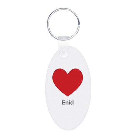 Enid Big Heart Keychains