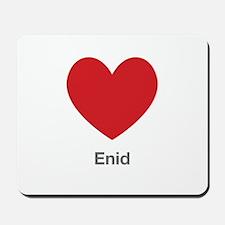 Enid Big Heart Mousepad