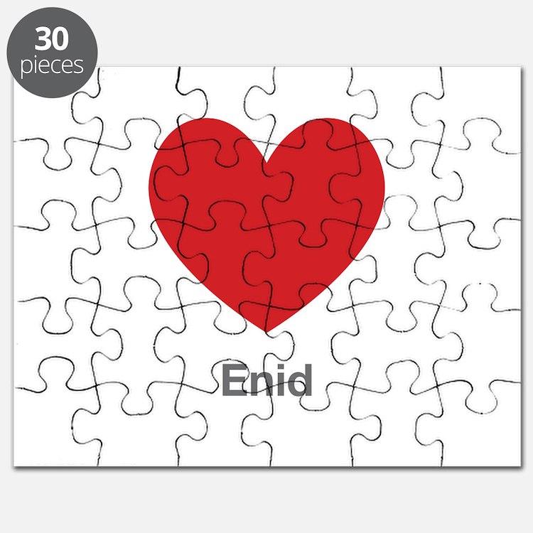 Enid Big Heart Puzzle