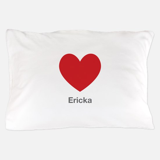 Ericka Big Heart Pillow Case