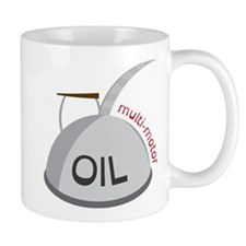 Motor Oil Can Mug