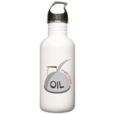 Motor Oil Can Water Bottle