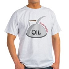 Motor Oil Can T-Shirt