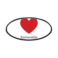 Esmeralda Big Heart Patches