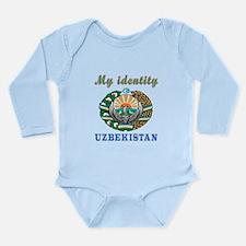 My Identity Uzbekistan Long Sleeve Infant Bodysuit