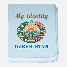 My Identity Uzbekistan baby blanket