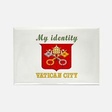 My Identity Vatican City Rectangle Magnet