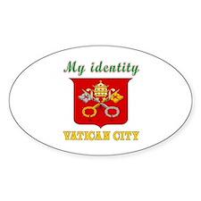 My Identity Vatican City Decal