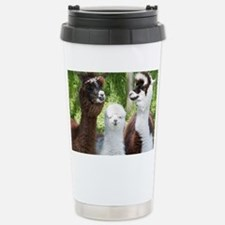 Three different alpacas - Stainless Steel Travel M