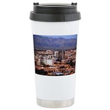 fter sunset, from Sentinel Peak Park - Travel Mug