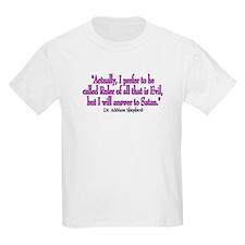 McSatan Kids T-Shirt
