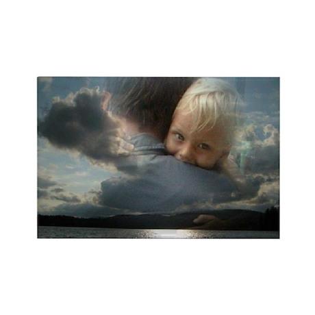 Luke Borusiewicz Hugging His Daddy in Heaven Recta