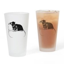Truckle and Hamish Drinking Glass
