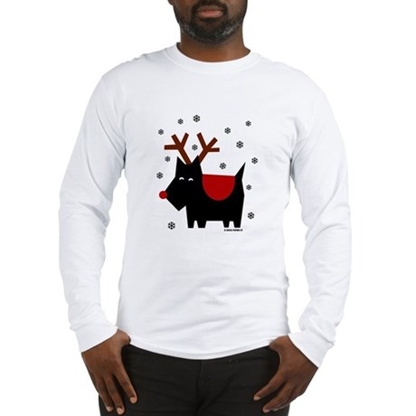 SCOTTIE REINDEER Long Sleeve T-Shirt