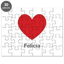 Felicia Big Heart Puzzle