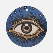 Eye in the sky zodiac astrology stars Ornament (Ro