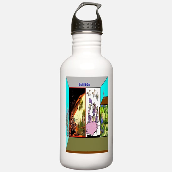 Girls Will Be Girls Water Bottle