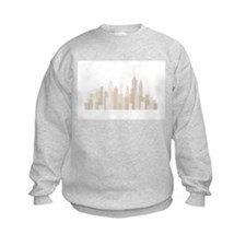 Modern New York Skyline Sweatshirt
